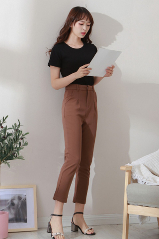 Basic Straight Trousers