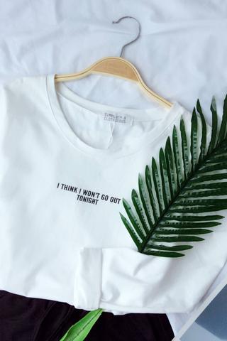 Longsleeve printed T-shirt