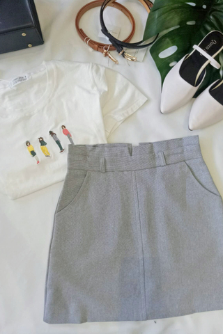 A-line Tailored Skirt