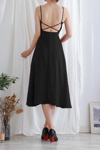 Back Cross Strap dress