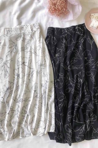 Flora Midi Skirt